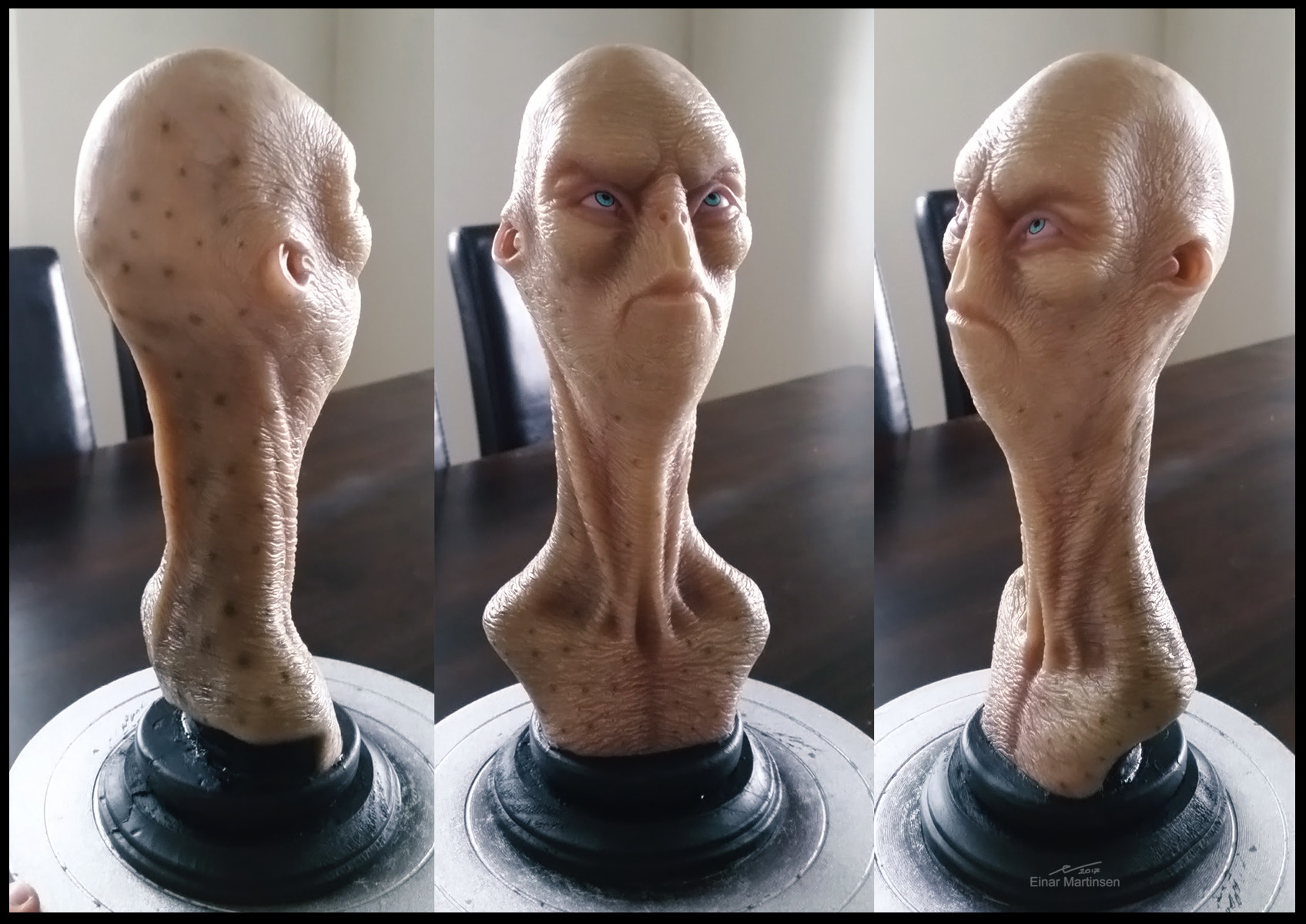 Einar martinsen traditionalsculpture alien em