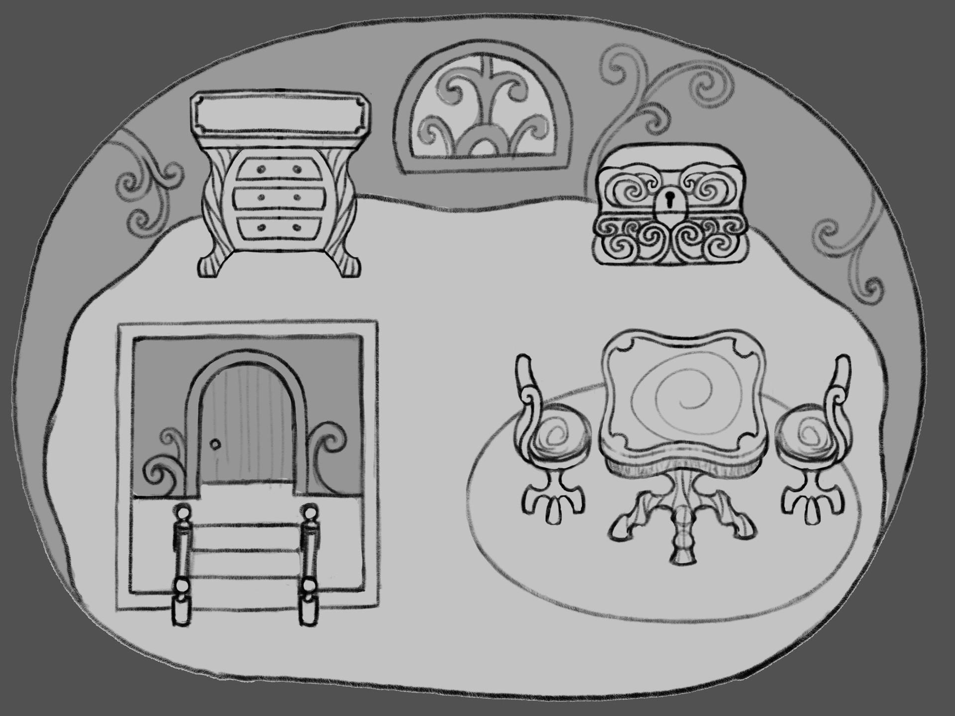 Brett stebbins vampire house interior 01