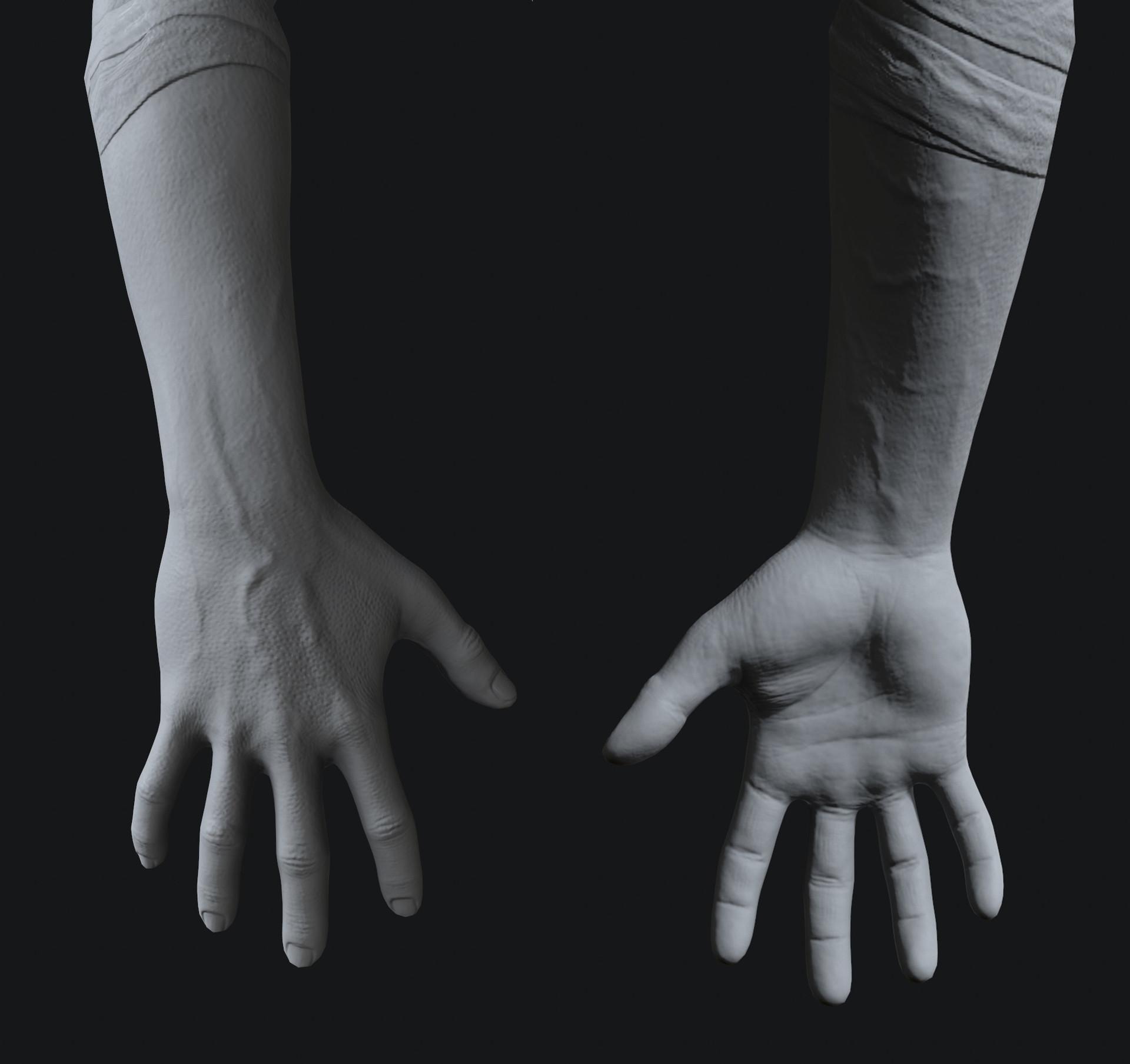 Pietro berto hands