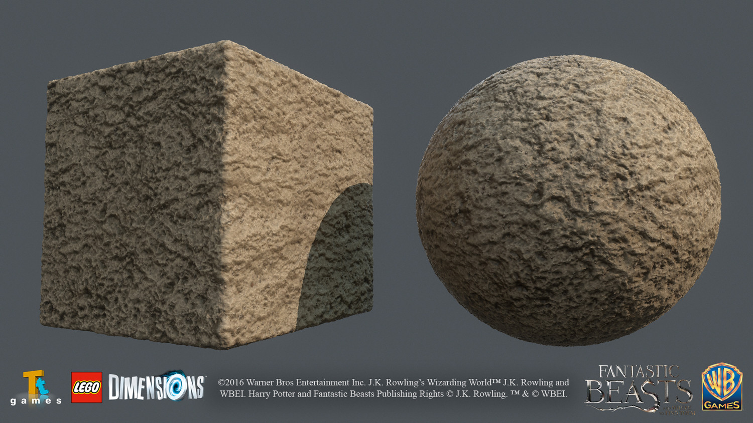 Lumpy Sand - Mix of Substance Painter, Photoshop and photosource