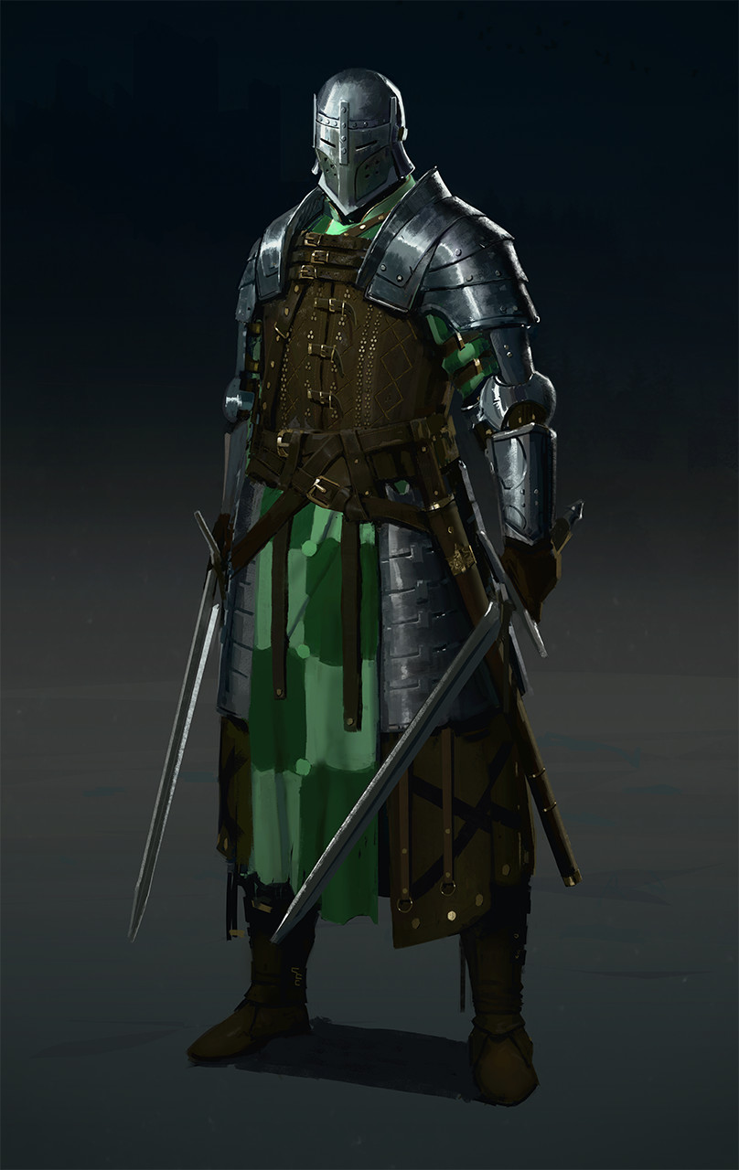 ArtStation - Medieval champion, Evgeniy Petlya