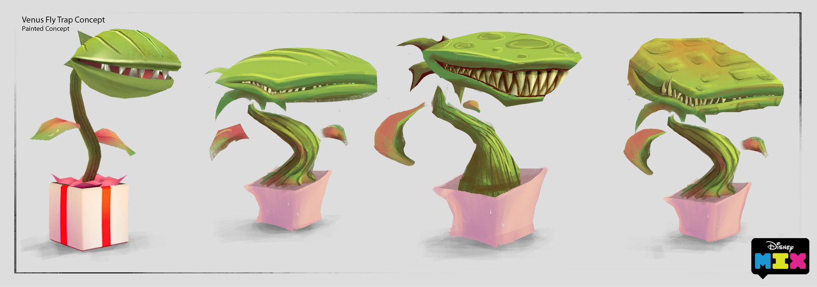 """Concept to """"Mixify"""" Venus fly trap Mix Character"""