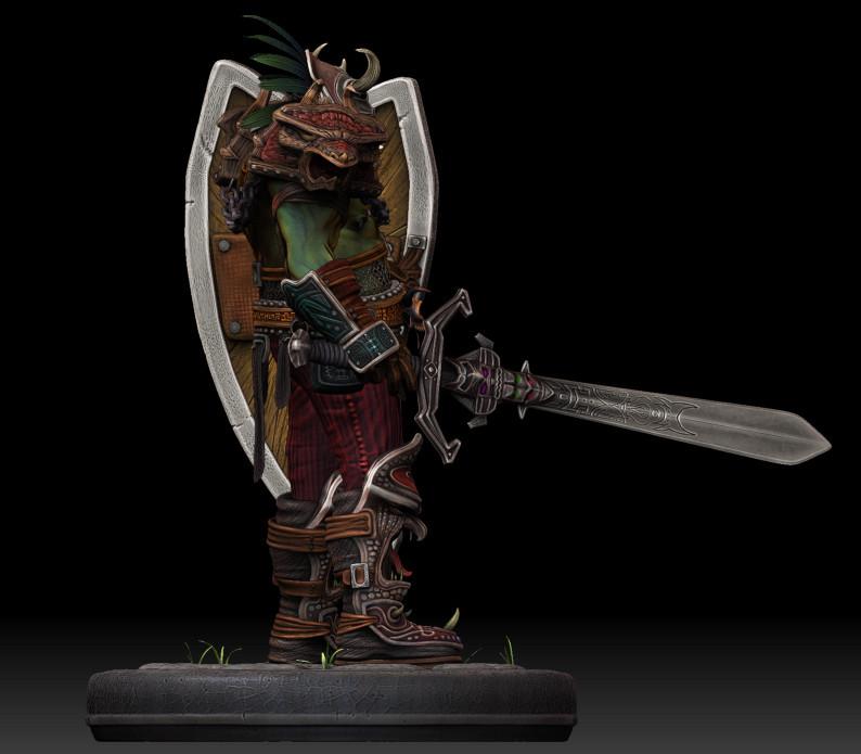 Dan burke orc voodoo warrior 06