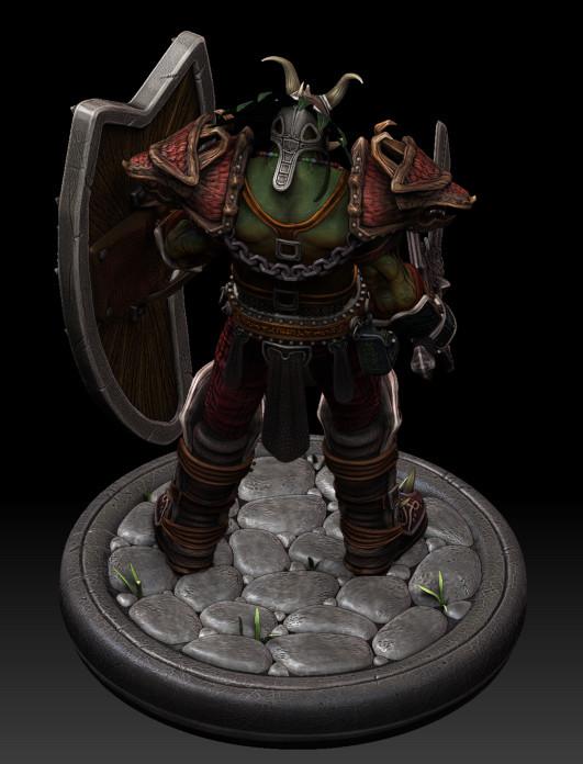 Dan burke orc voodoo warrior 02