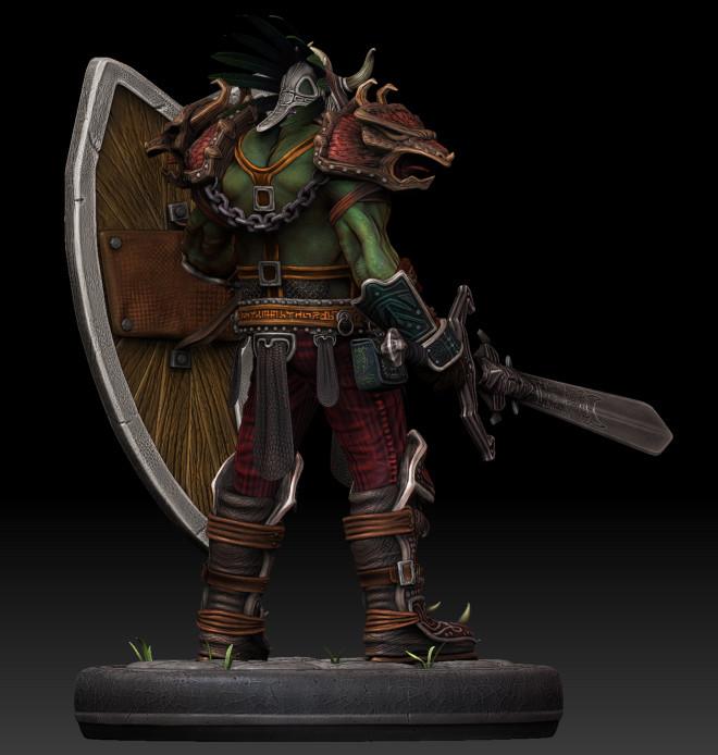 Dan burke orc voodoo warrior 04
