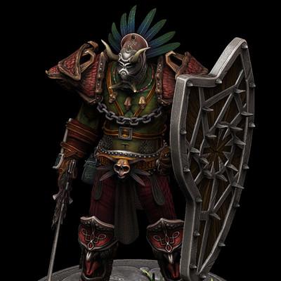Dan burke orc voodoo warrior 05