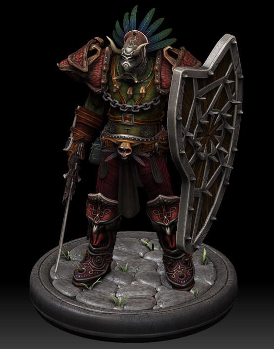 Orc Voodoo Warrior