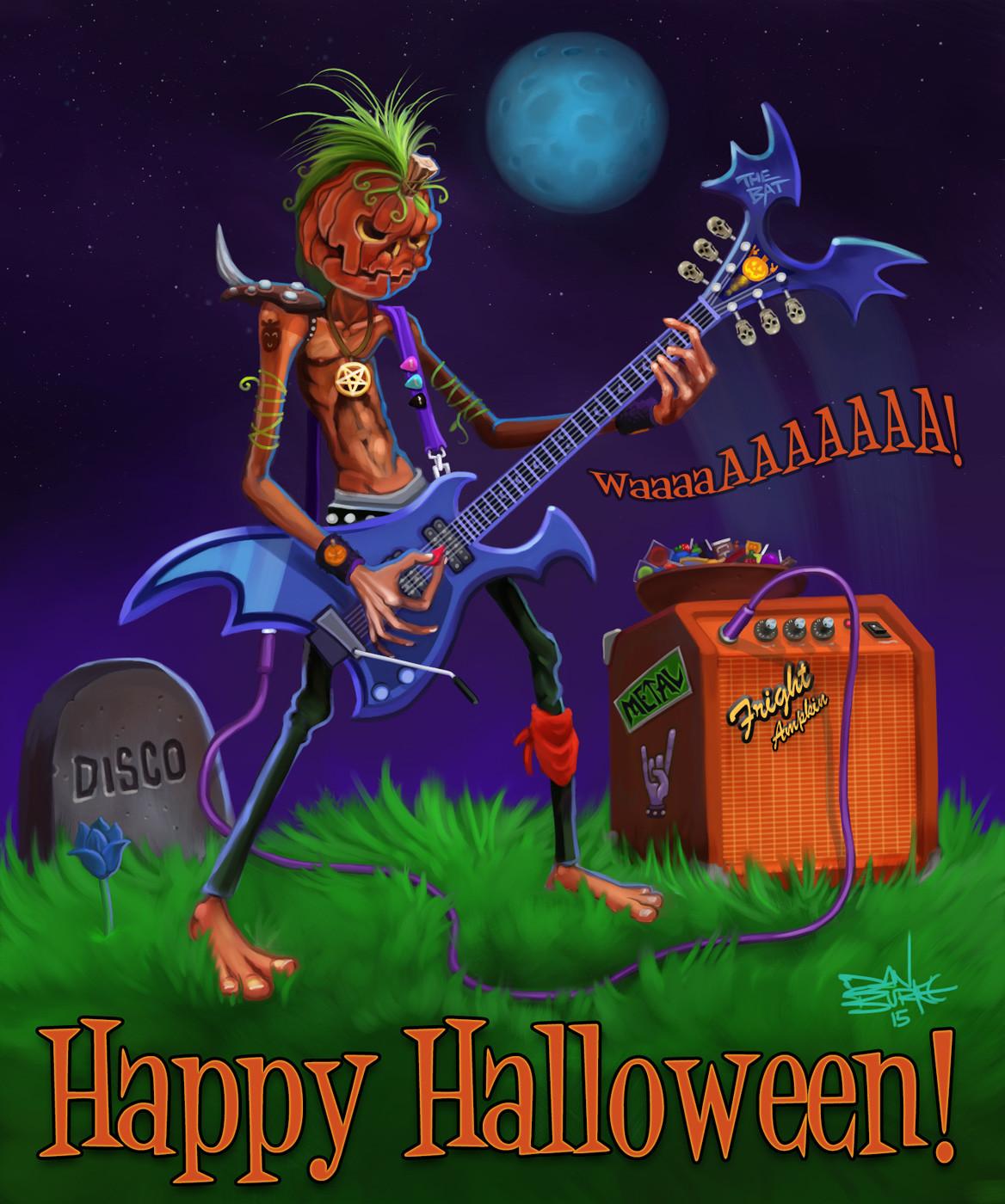 Dan burke happy halloween 2015