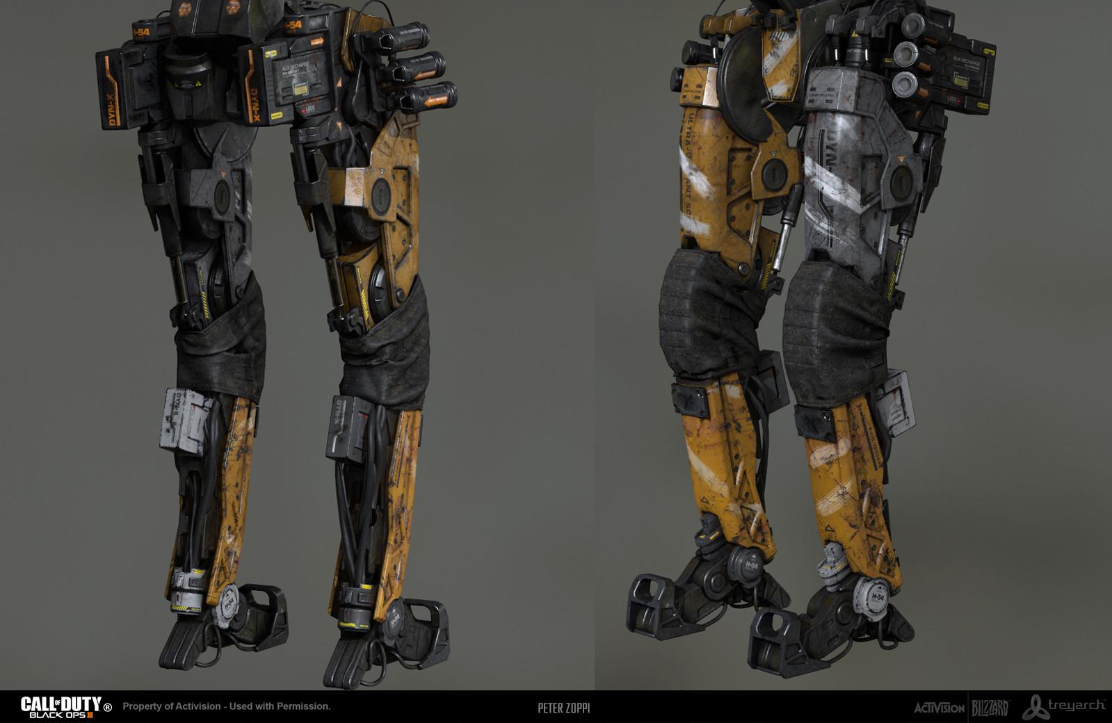 Robot Grunt Lowerbody