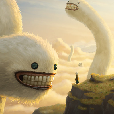 Andrew mcintosh fuzzy cloud worms 005c