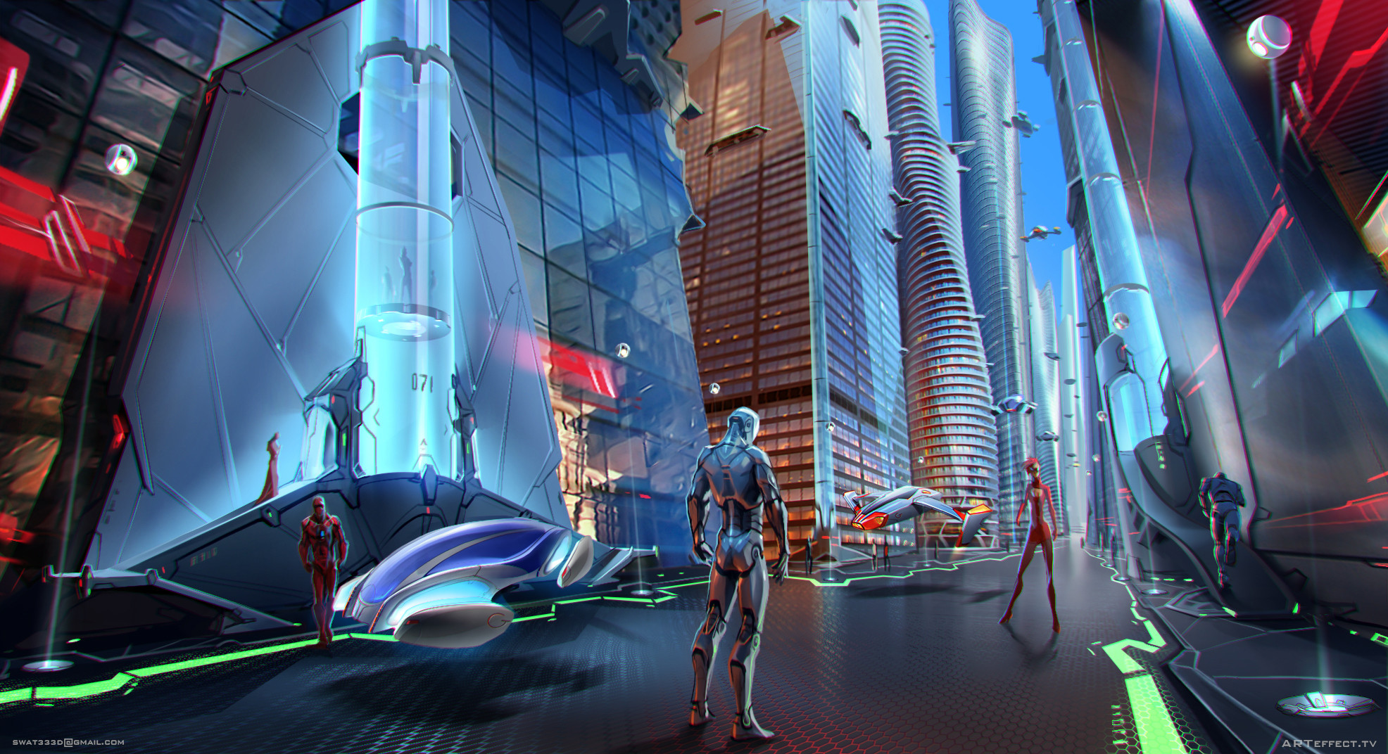 Parametric City - at street