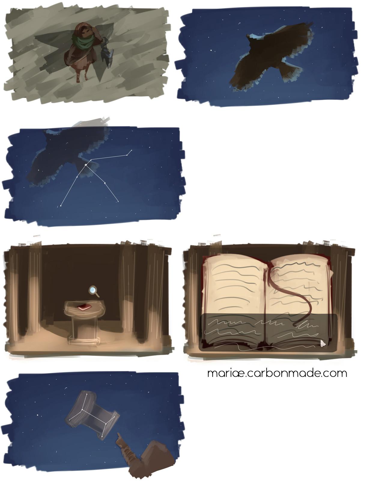 Concept Sketches Pt.2