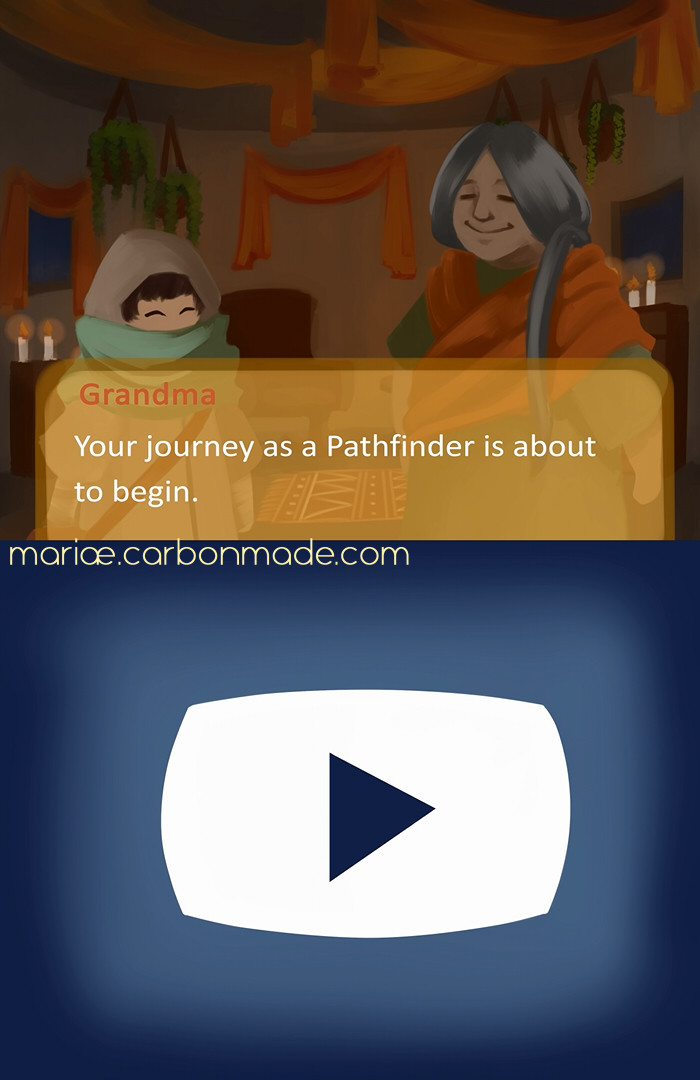 Screencap from the Intro