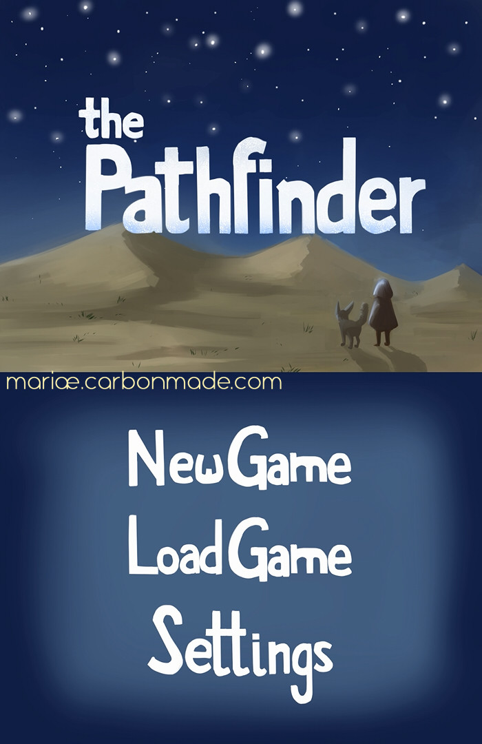 Screencap of the main menu.