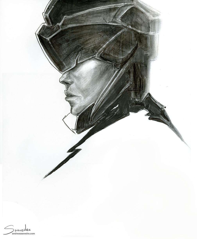 Andrea saavedra andreasaavedra sketch2017portrait