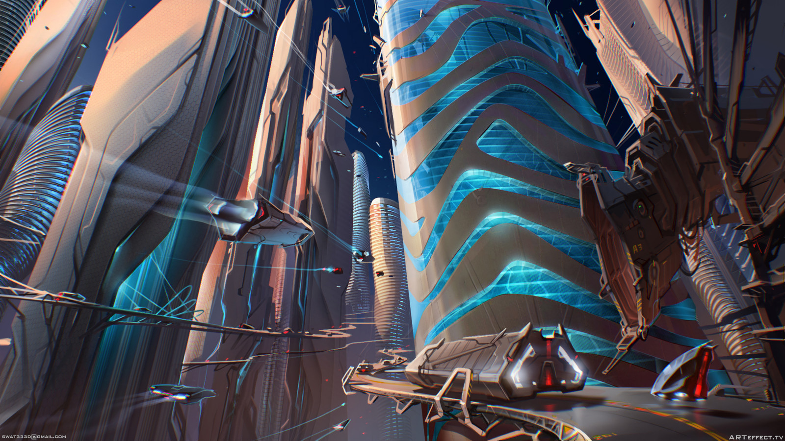 Sci-Fi Skyroad