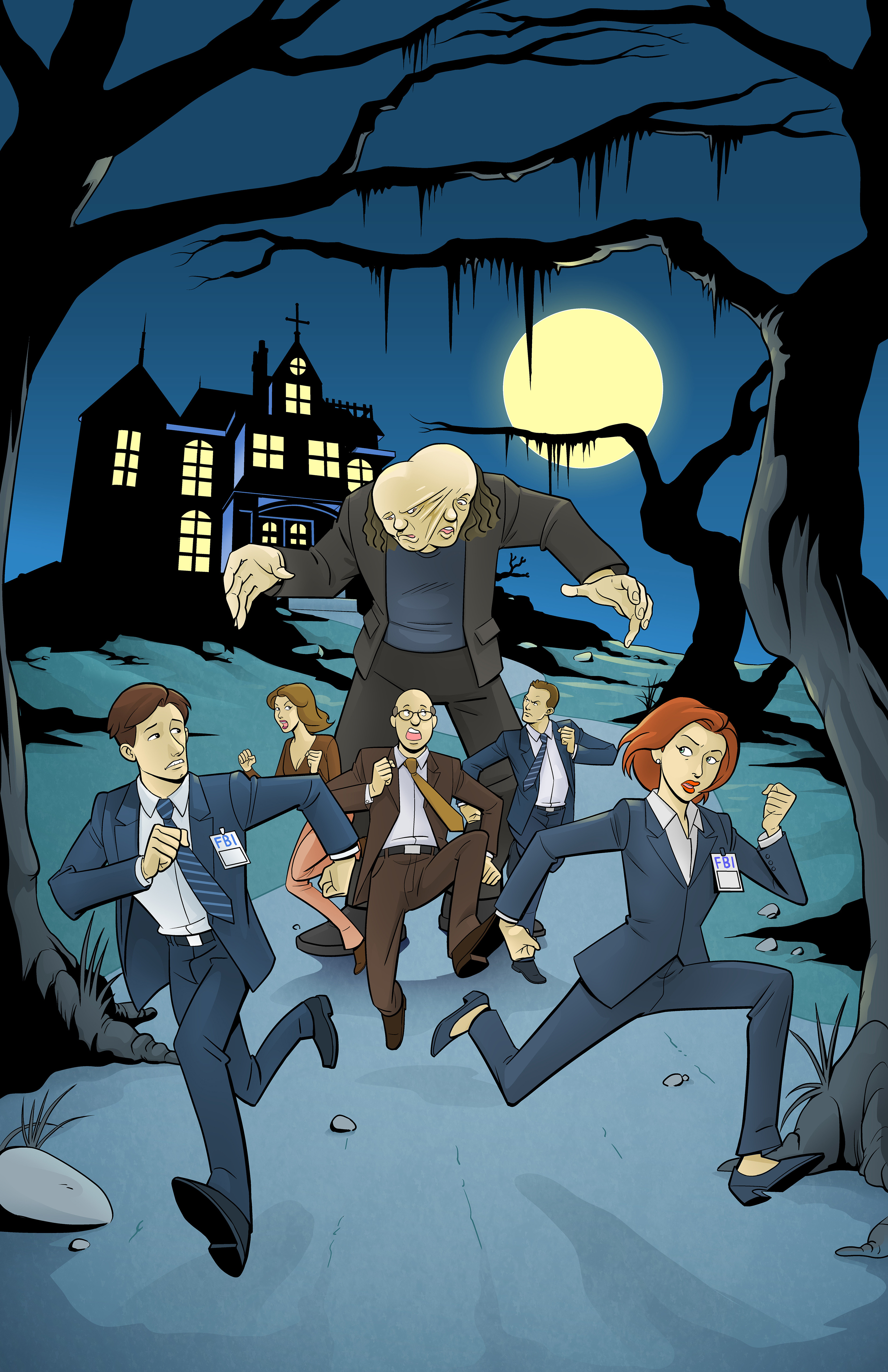 The X-Files Get Animated - Finished cover