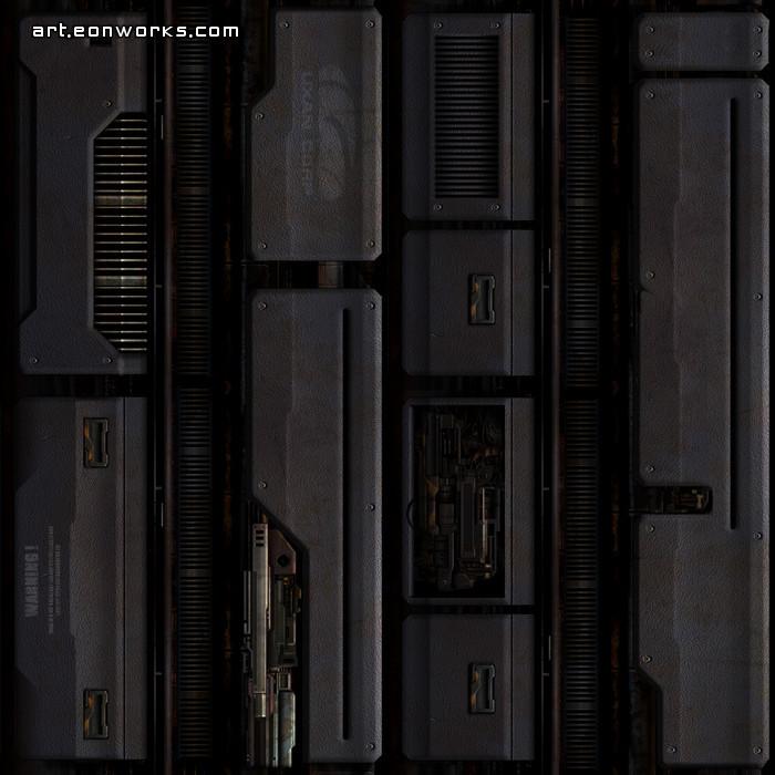 sci fi ceiling texture. Sci-Fi Ceiling Texture For A Corridor. Sci Fi G