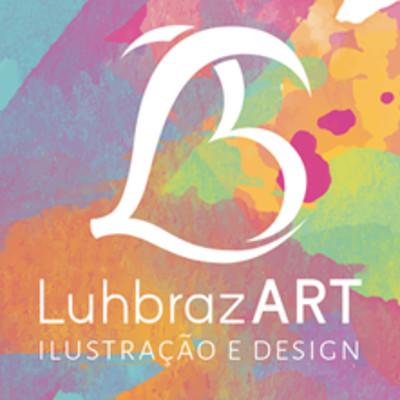 Luiza braz luhbrazart visual identity