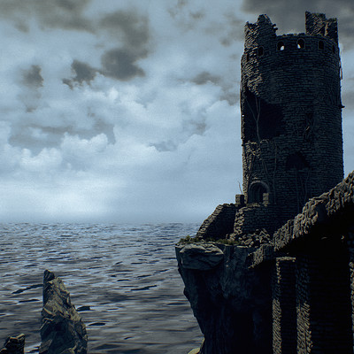 Sharur t clifftowerruins screenshot 01
