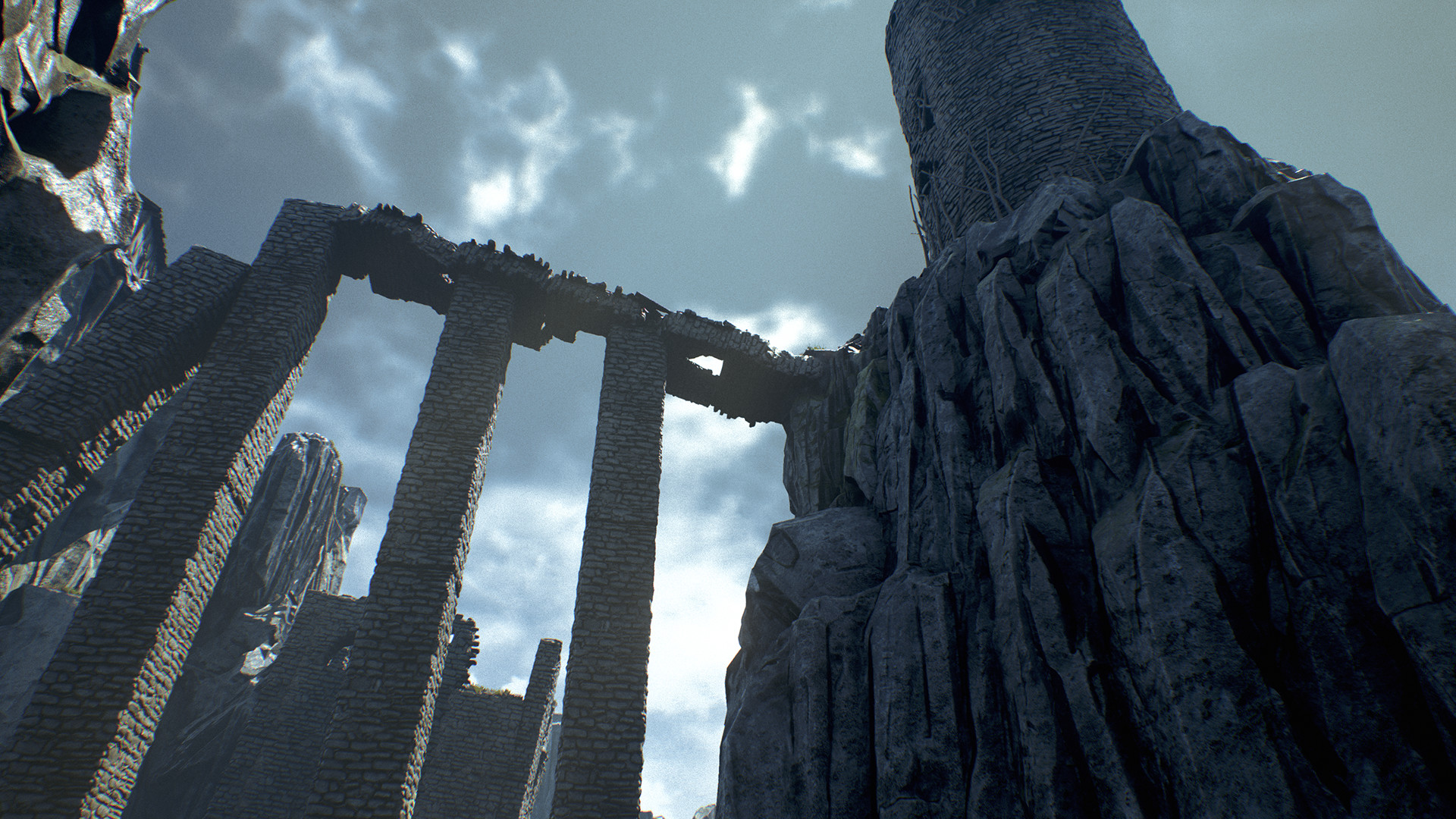 Sharur t clifftowerruins screenshot 07