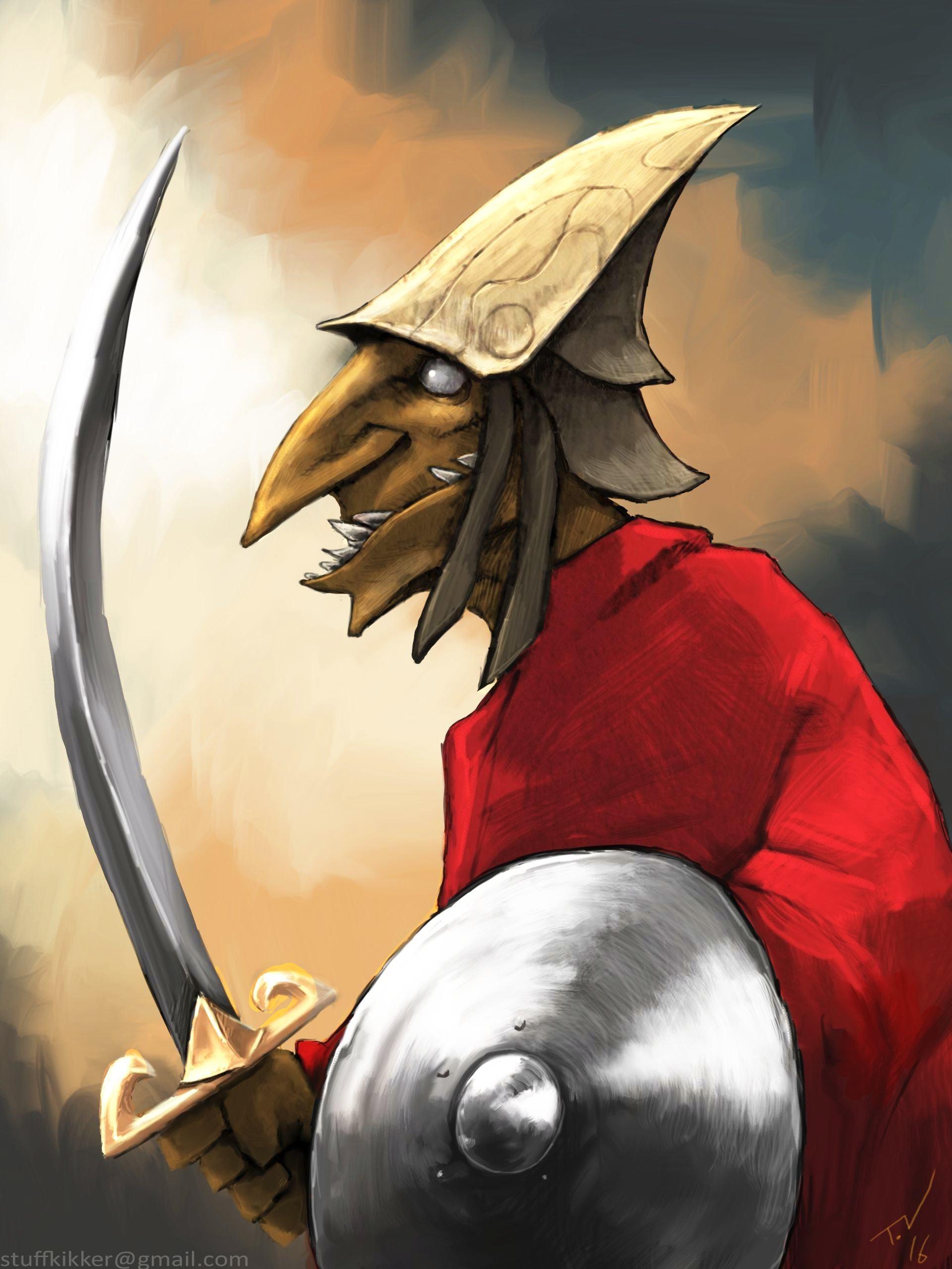 Thijs de vries goblin guard