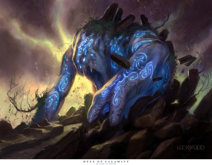 Image result for deus of calamity art