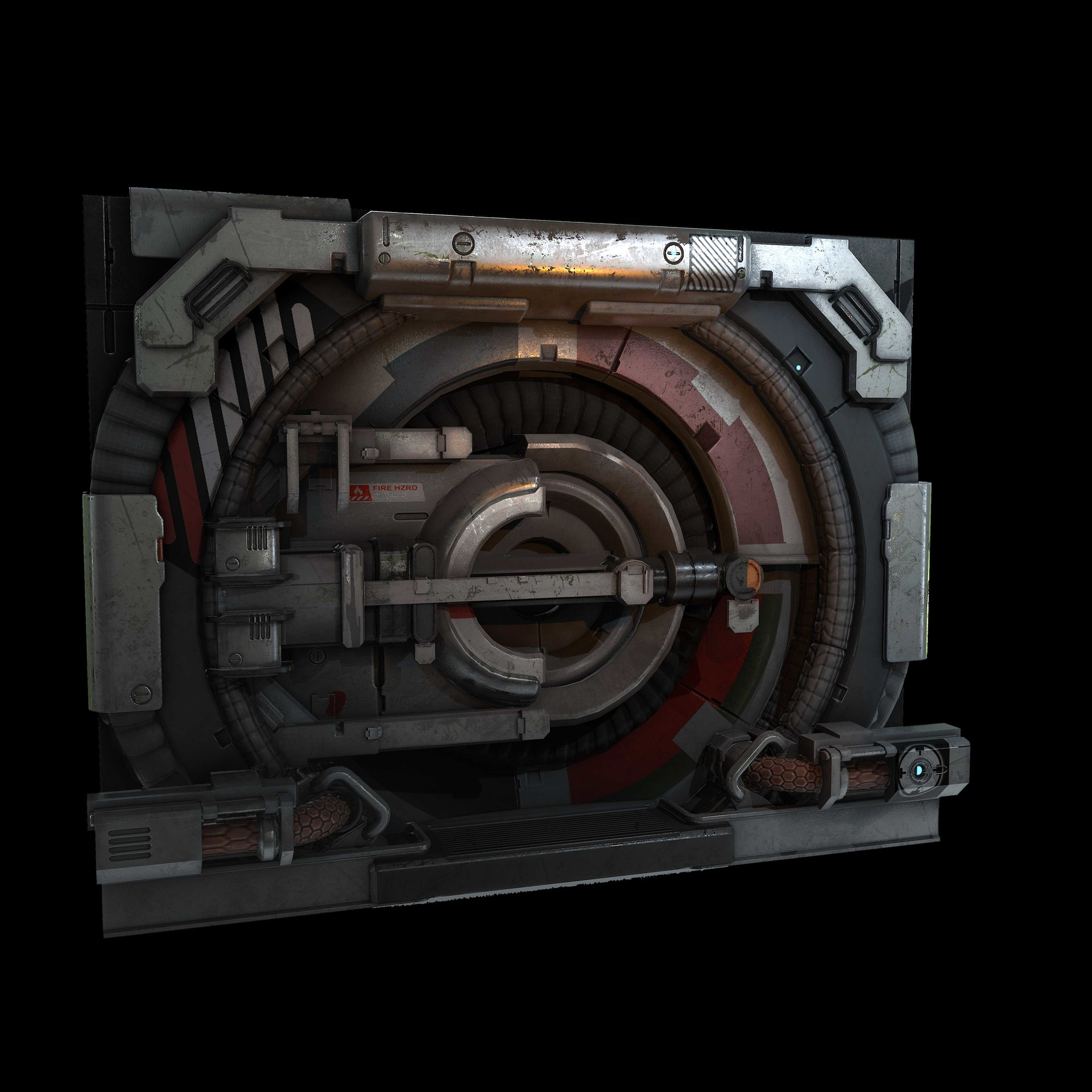 Tyler smith circledoorrender02 & Tyler Smith - Game Art Circular Door
