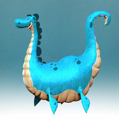Paul lembcke nessie full body
