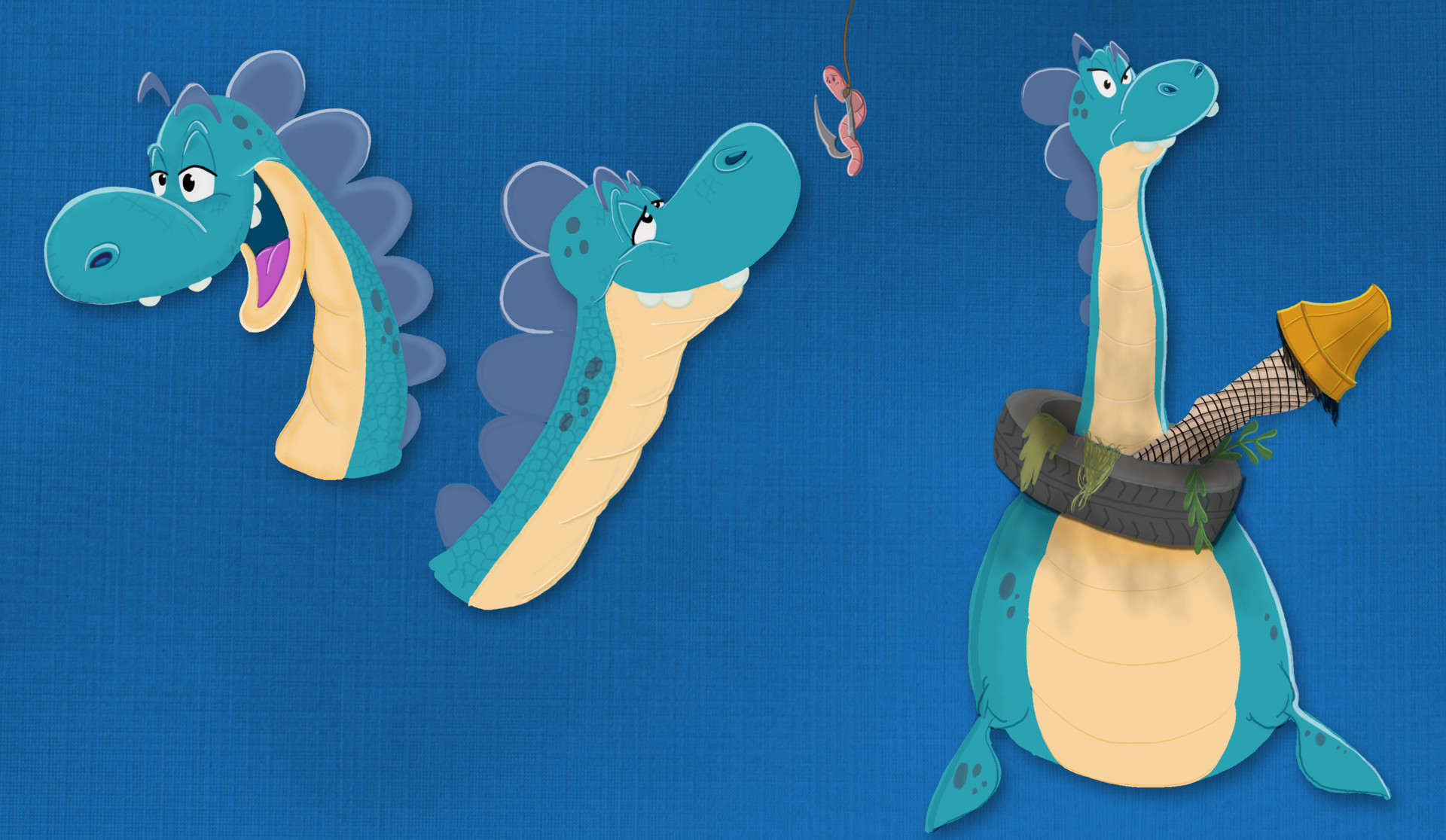 Paul lembcke nessie expressions