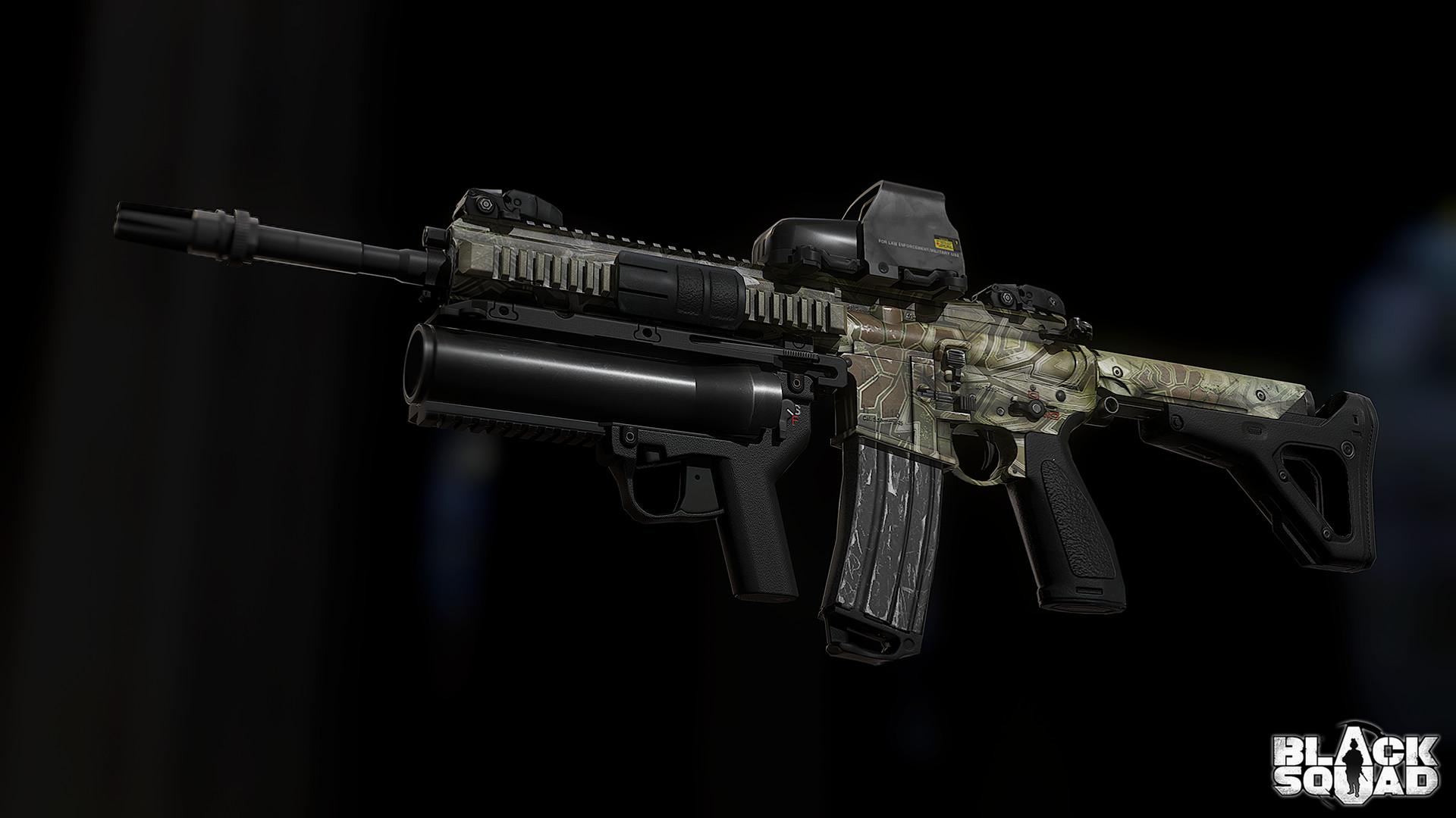 HK416 Assault Rifle