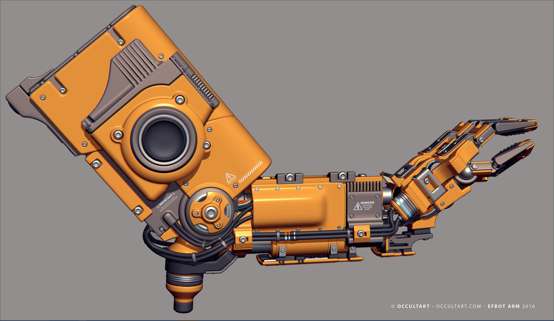 Occultart   occultart efbot yellow arm 11