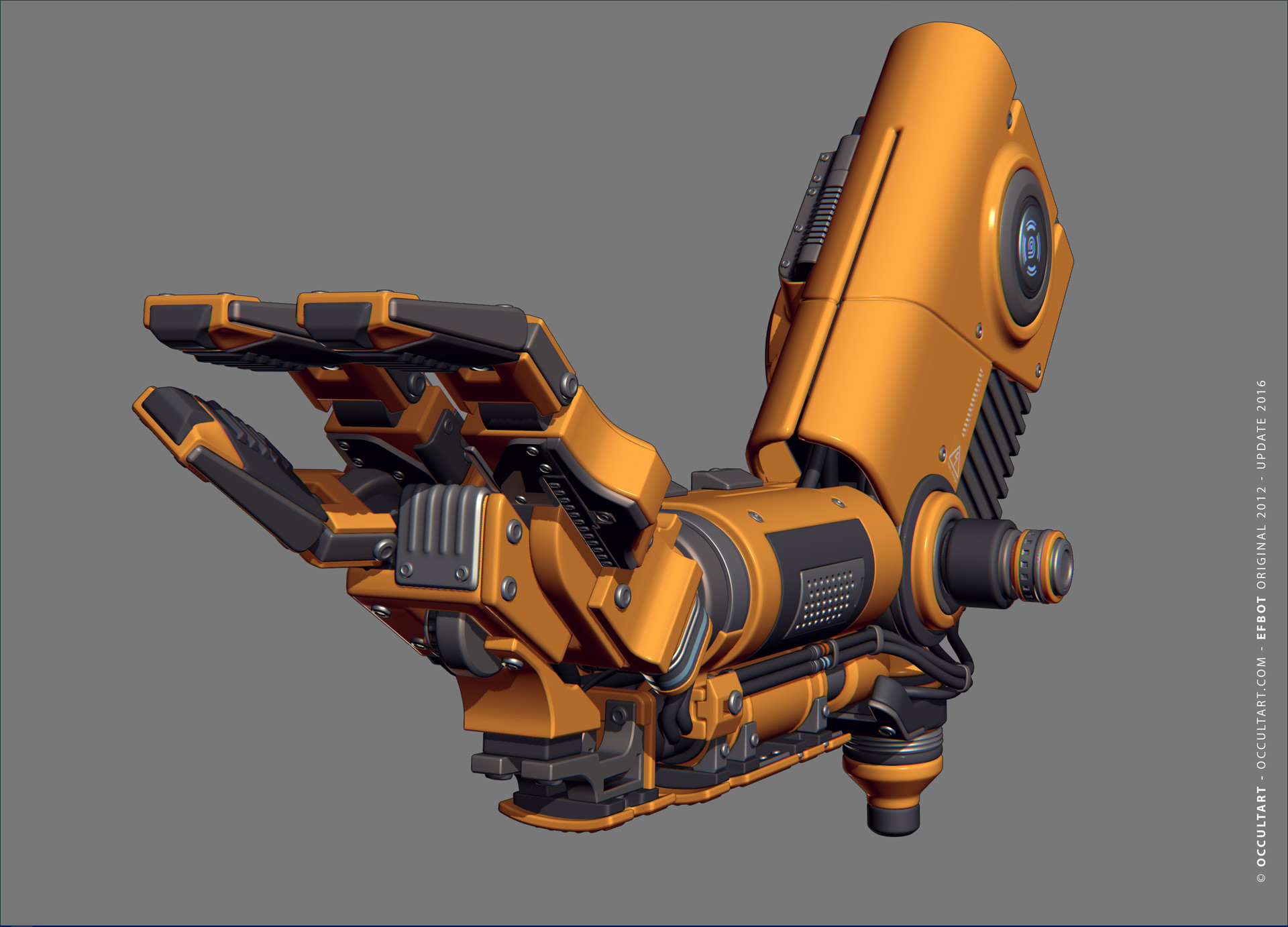 Occultart   occultart efbot yellow arm 02