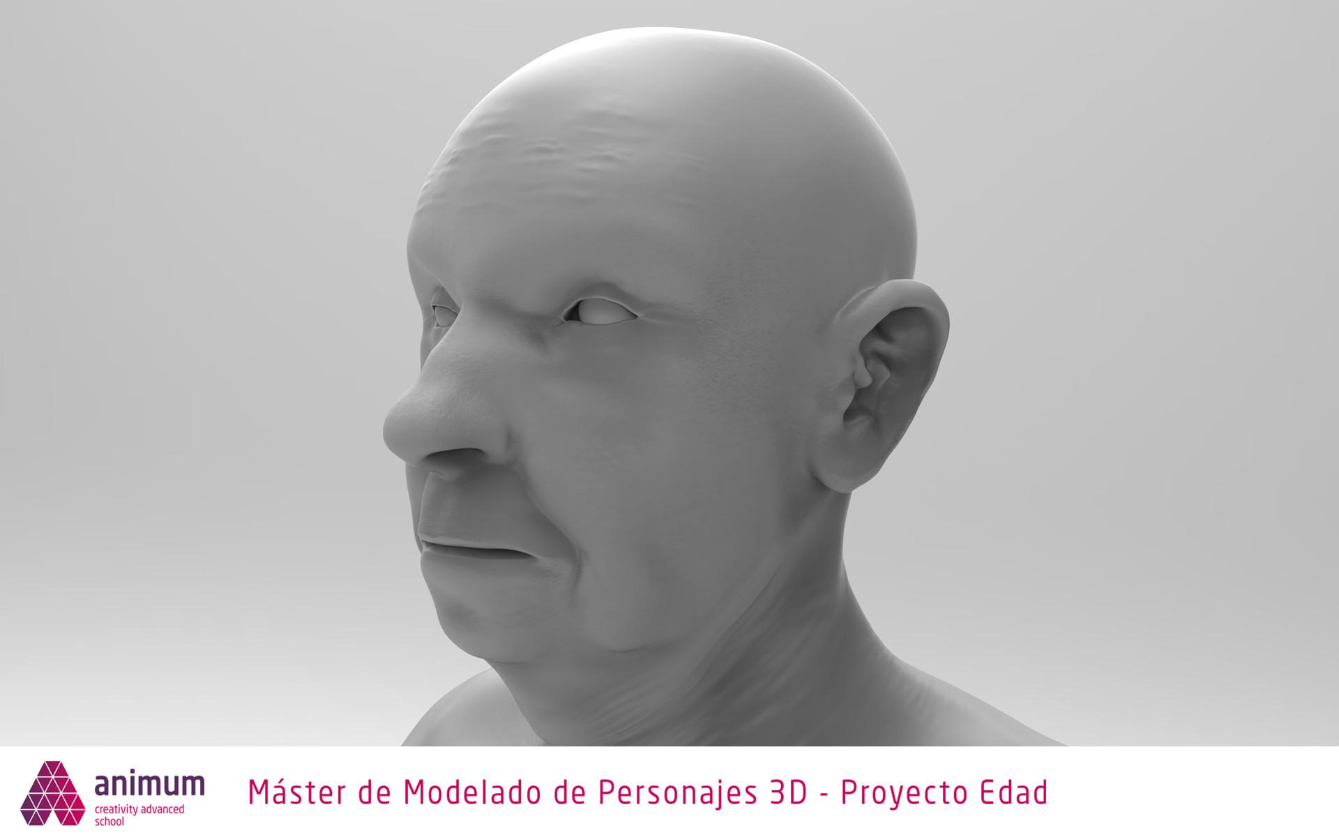 Javier Mateos - Old man anatomy