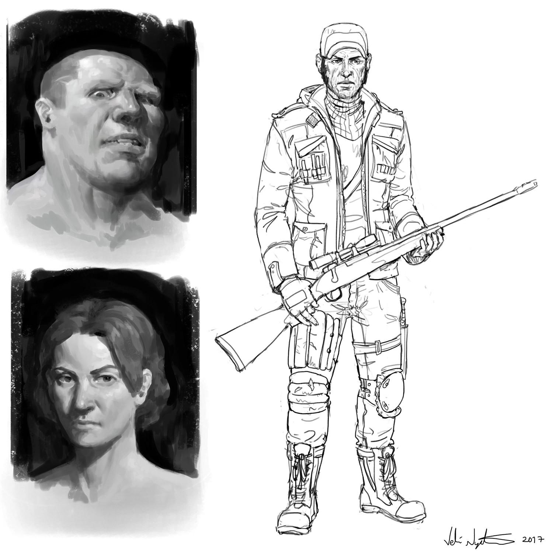 Veli nystrom sketch daily 41