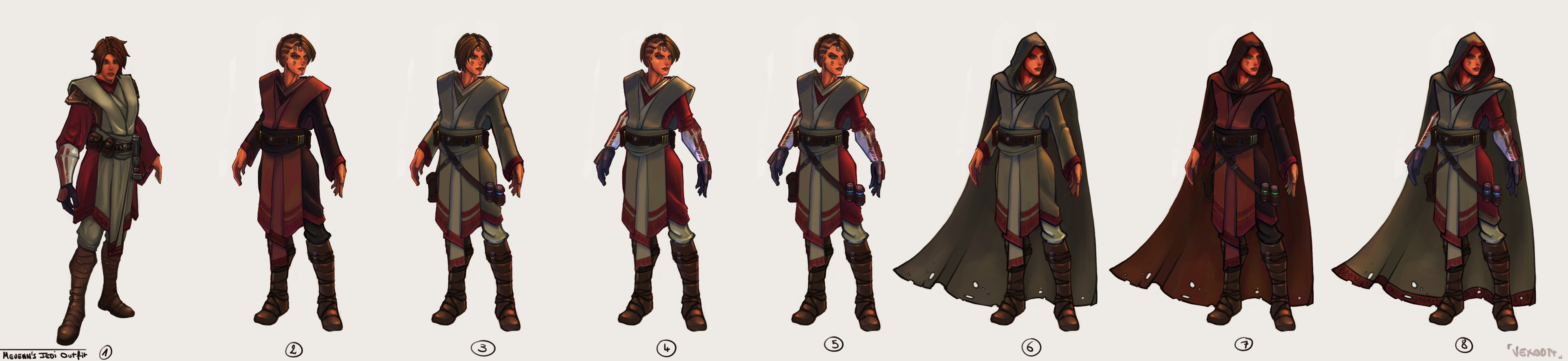 New and next hero outfit variations :)