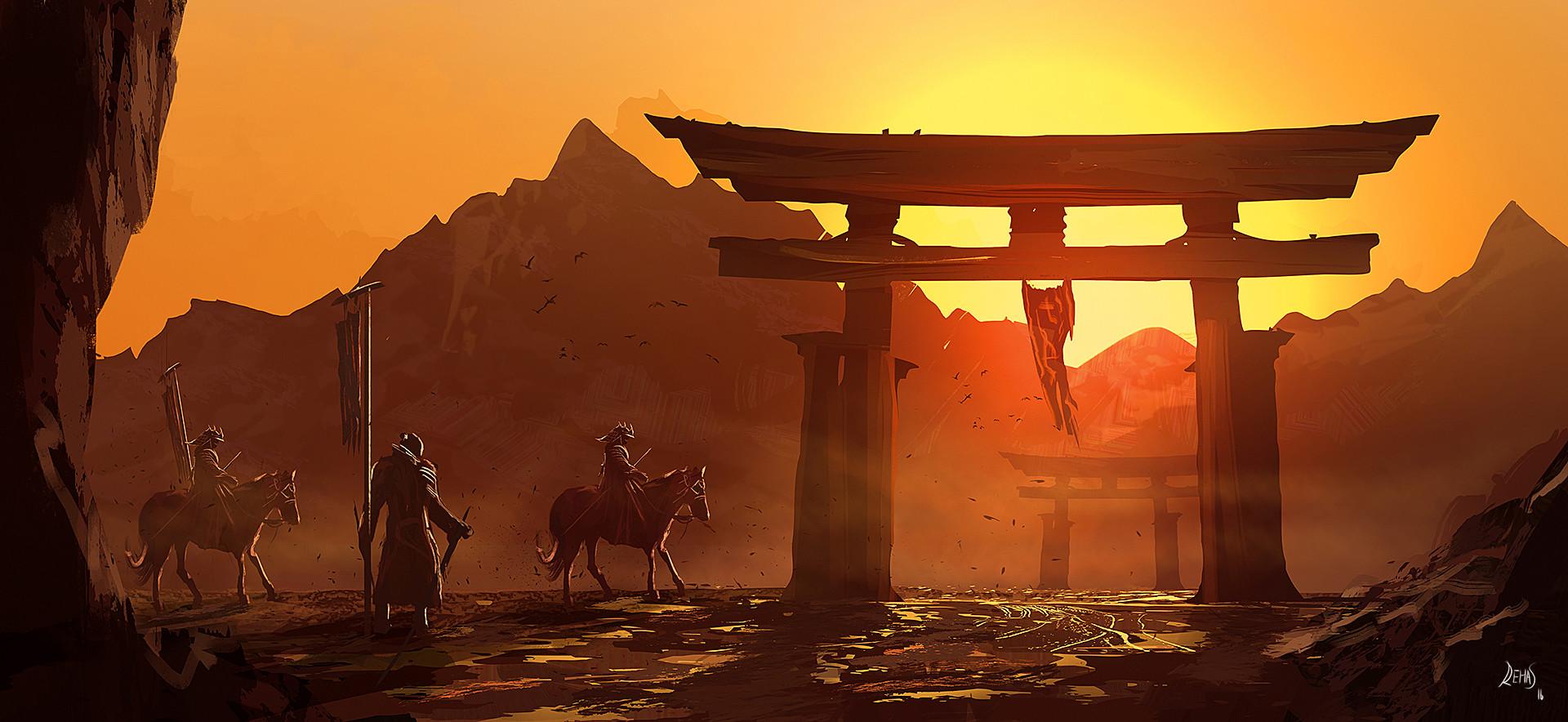 Reha sakar mounted samurai 1080