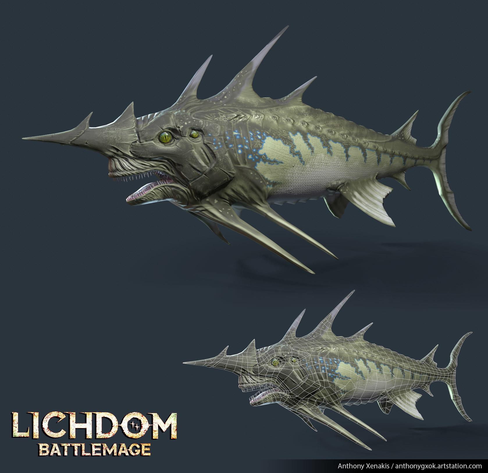 Anthony xenakis fish render