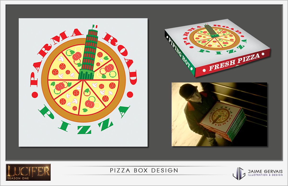 Jaime gervais pizzabox