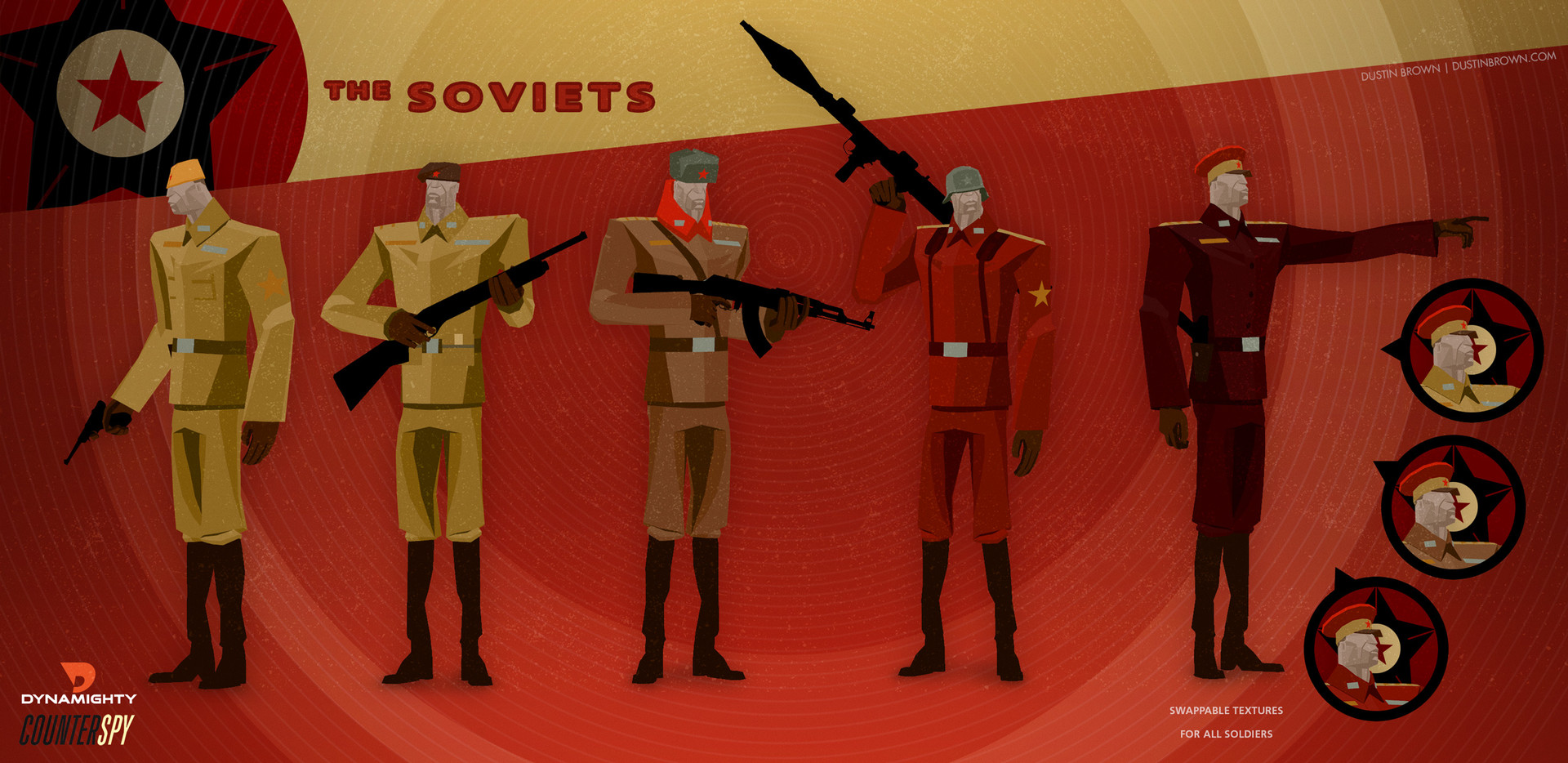 Dustin brown dustinbrown counterspy soldierssoviet