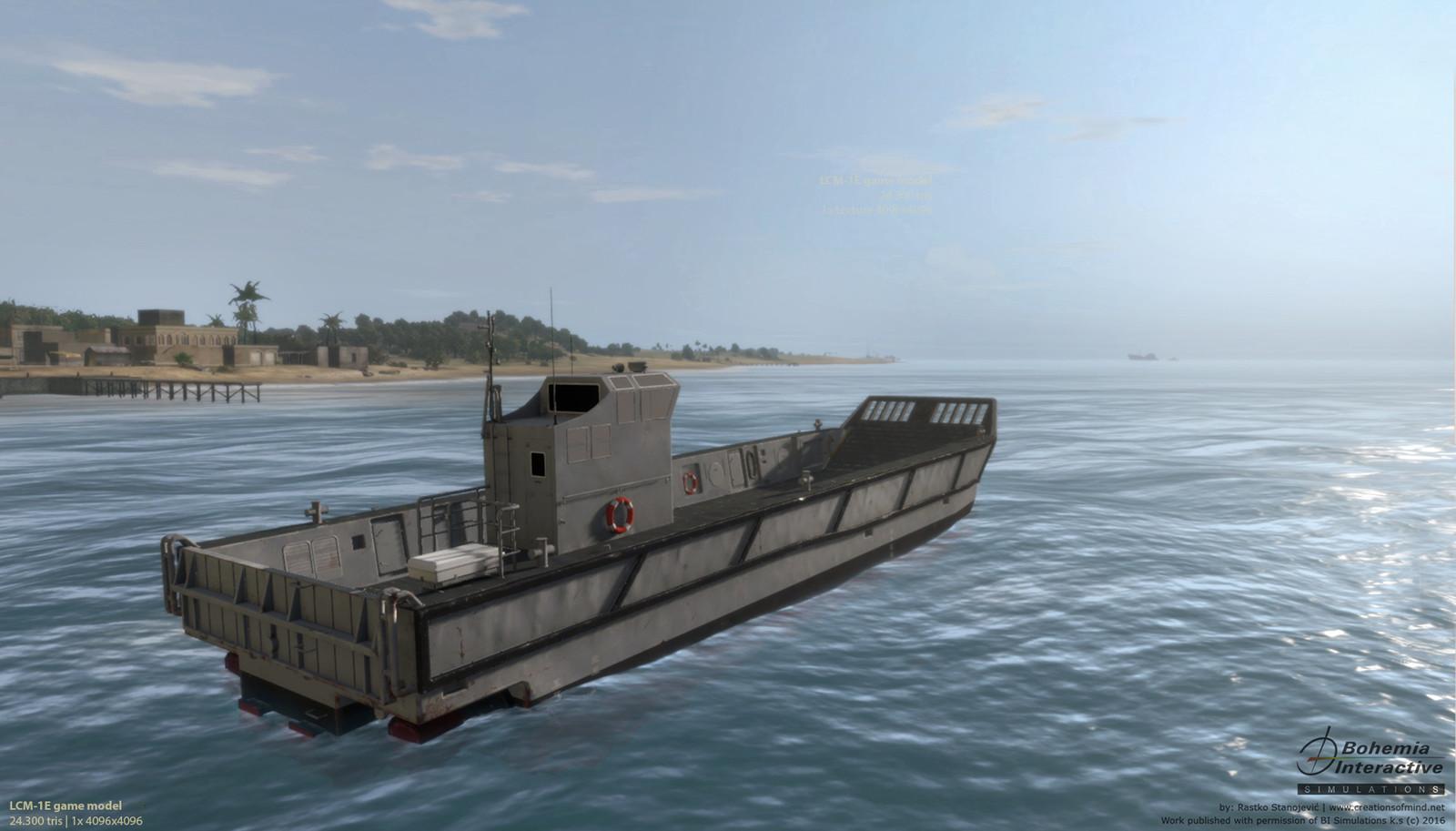 LCM-1e Landing Craft | in game shot |