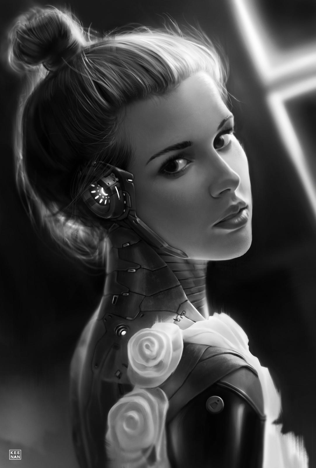 CyberPunk 2041 Portrait