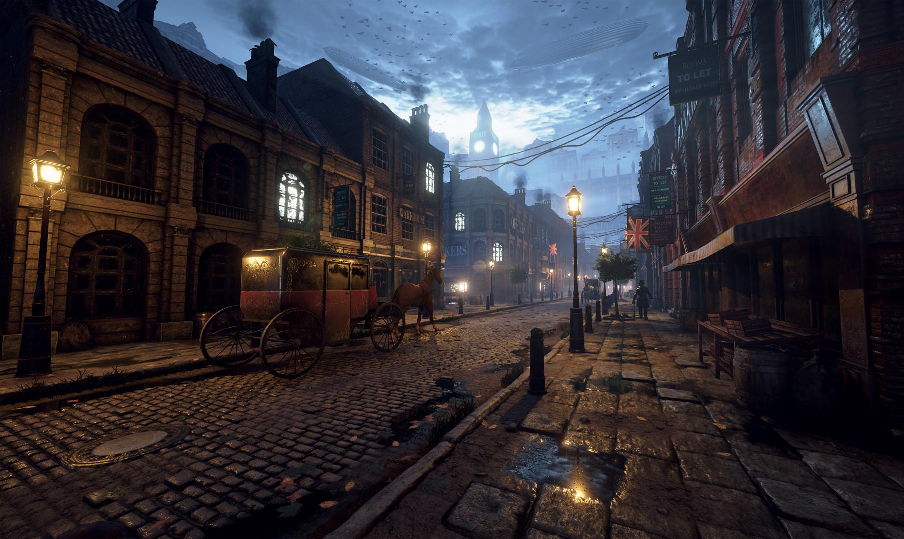 Michal Baca - Unreal Engine 4 - Victorian London Environment