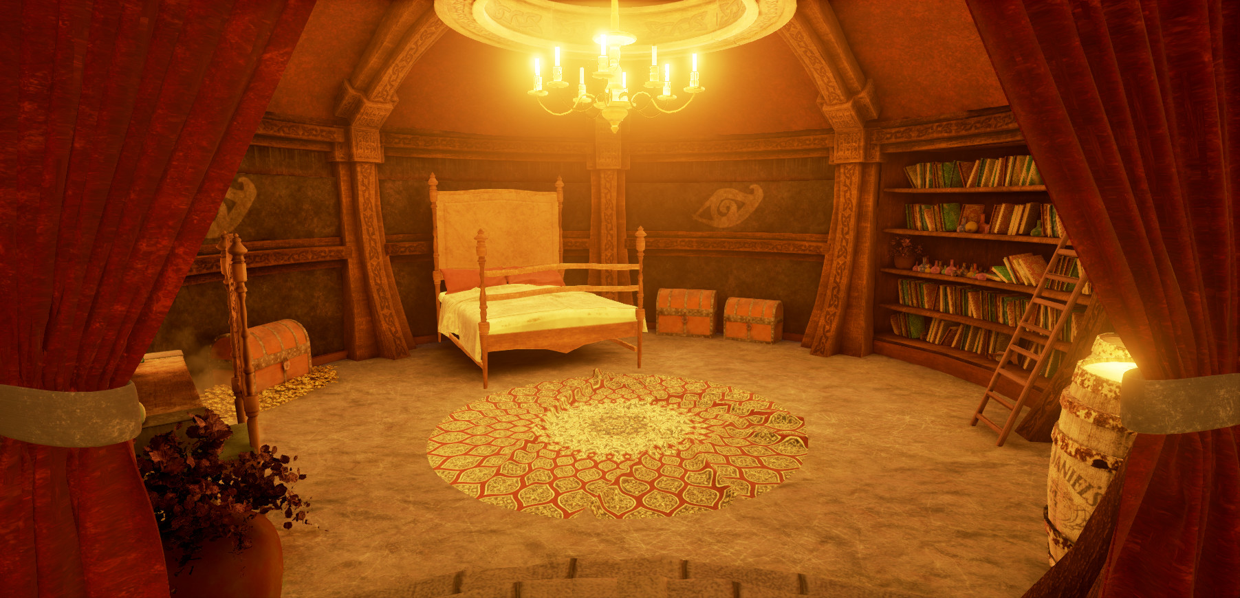 Room Modeling jaume caldentey - wizard room modeling + texturing