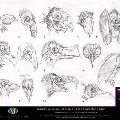 Christopher goodman wizards vs aliens familiar eelix sketch comp b