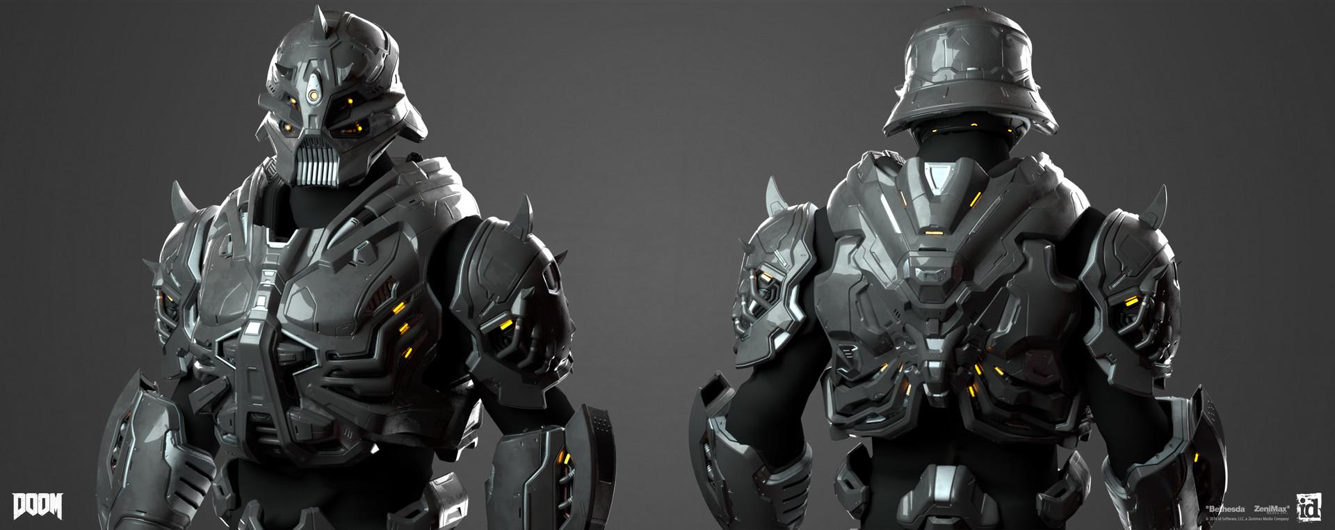 Emanuel Palalic Doom Robotic Armor