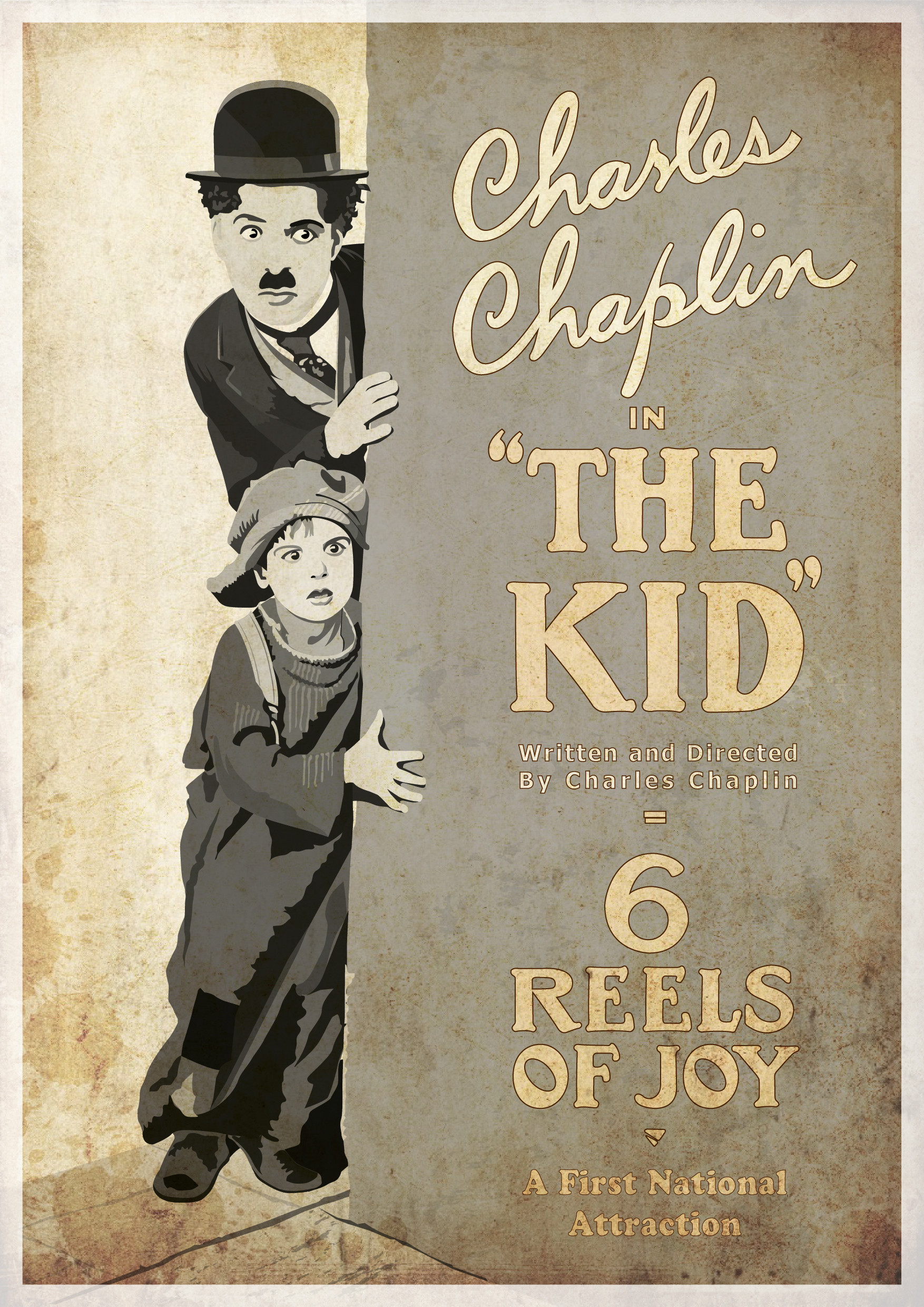 Rajesh sawant charlie chap the kid poster 01