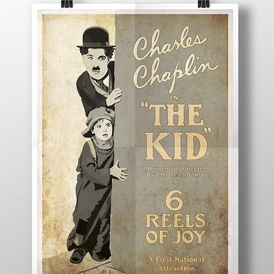 Rajesh sawant charlie chaplin poster
