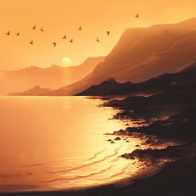 Emrullah cita sunset practice