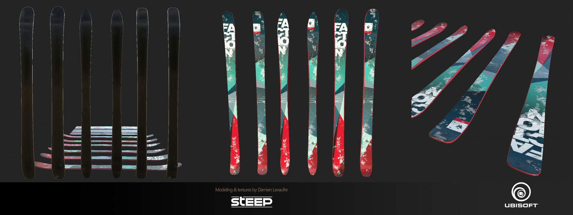Damien levaufre skis all